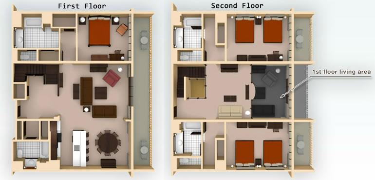 animal-kingdom-villas 3br grand-villa-kidani layout