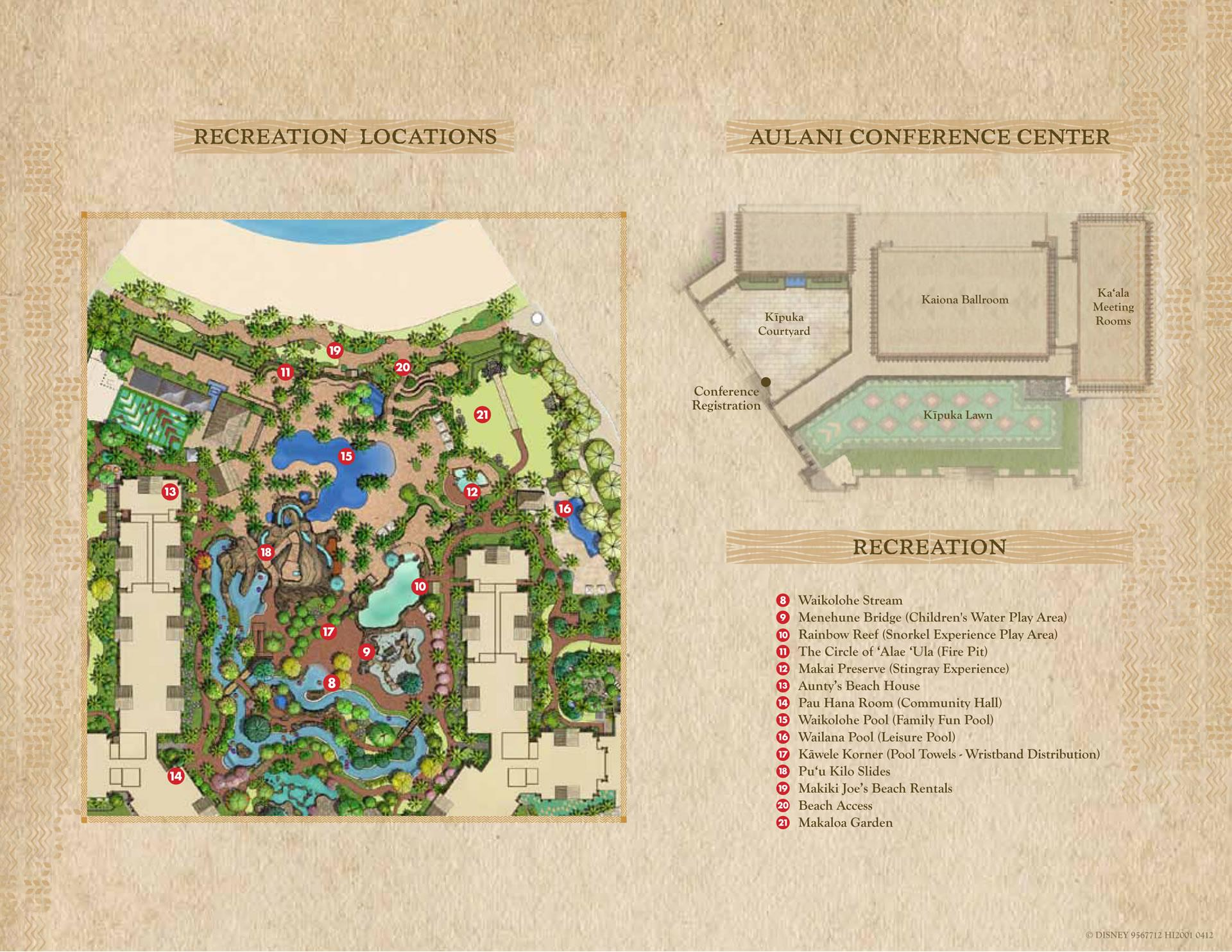 aulani resort map-2