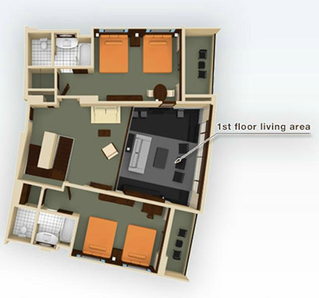 bay-lake-tower grandvilla-floor-2 layout