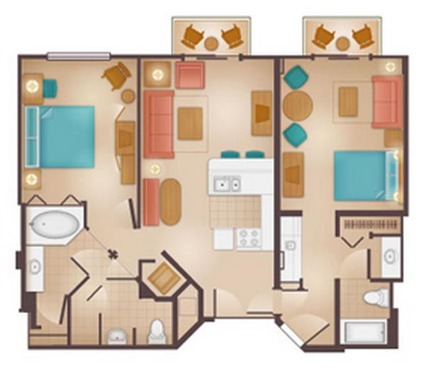 Bedroom Rental With Wet Room